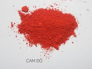 Màu khoáng làm son, Cam đỏ