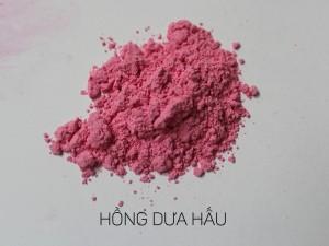 màu khoáng làm son, hồng dưa hấu