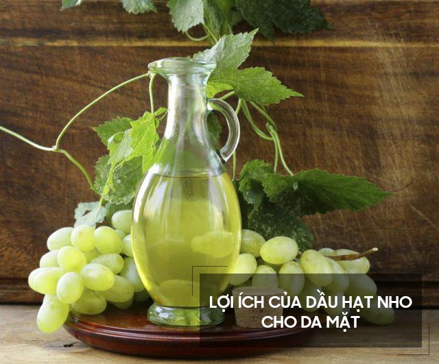 Lợi ích dầu hạt nho