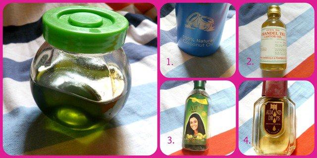 Công thức dầu dưỡng tóc