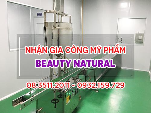 Nhà máy gia công mỹ phẩm của Beauty Natural