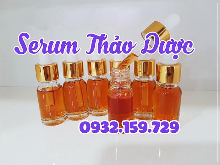 Nguyên liệu làm serum thảo dược hoàng cung