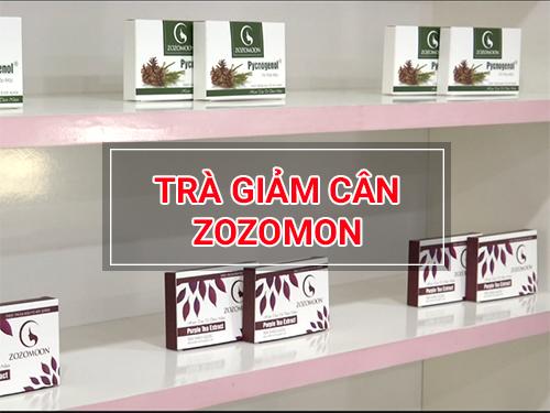 Sản phẩm trà giảm cân Zozomoon