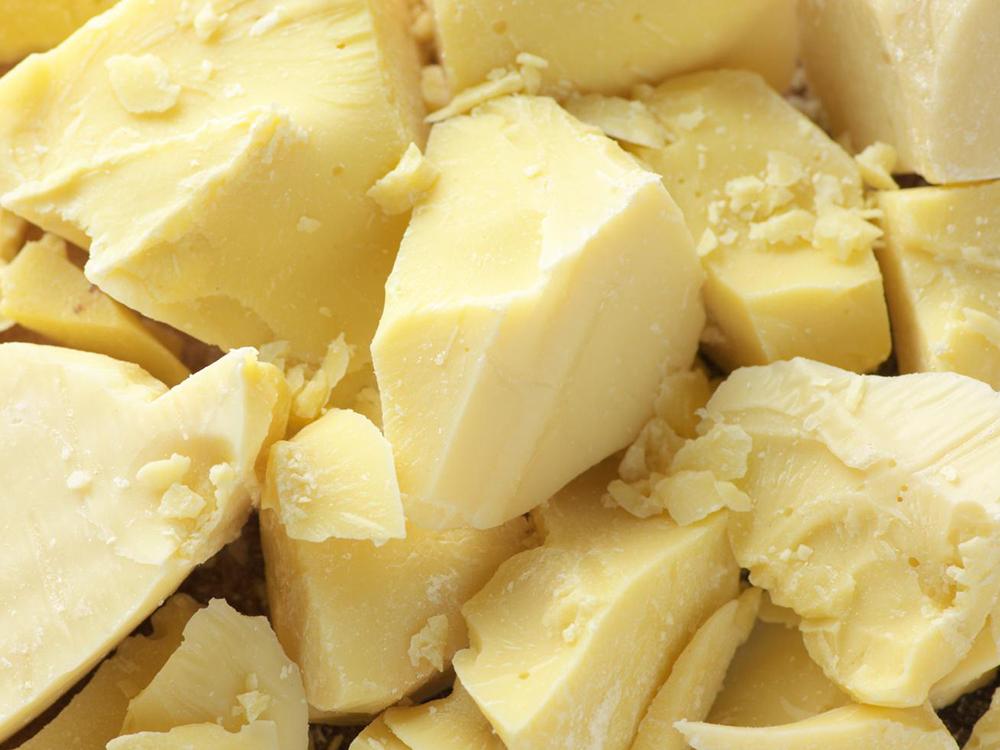 bơ shea thô