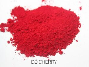 màu khoáng làm son, đỏ cherry