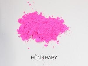 màu khoáng làm son, hồng baby