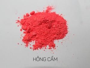 màu khoáng làm son, hồng cẩm