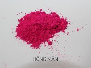 màu khoáng làm son, hồng mận