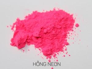 màu khoáng làm son, hồng neon
