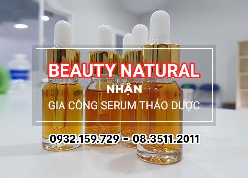 Gia công serum thảo dược