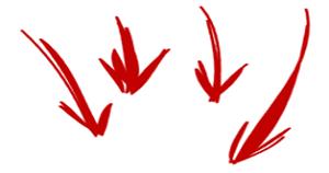 arrows_four_down-300x158